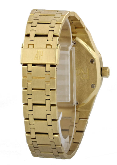 Audemars Piguet Royal Oak Day Date Moonphase 18k Yellow Gold Mens Watch