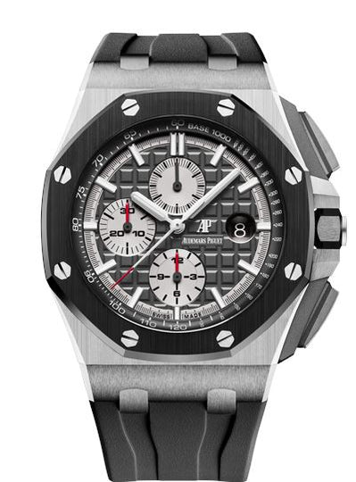 Audemars Piguet Royal Oak Offshore 26400IO.OO.A004CA.01 Titanium Mens Watch Box and Papers