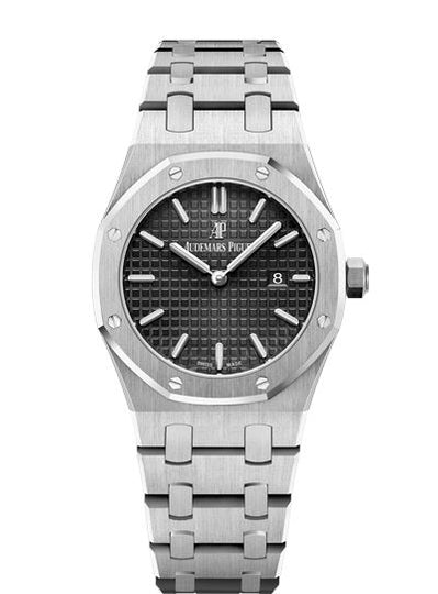 Audemars Piguet Royal Oak Quartz 67650ST.OO.1261ST.01 Ladies Watch. Box & Papers