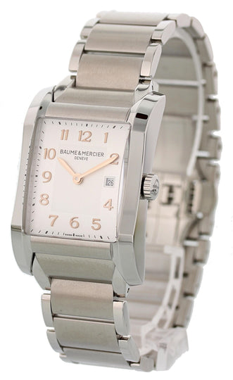 Baume & Mercier Hampton Milleis MOA10020 Steel Ladies Watch