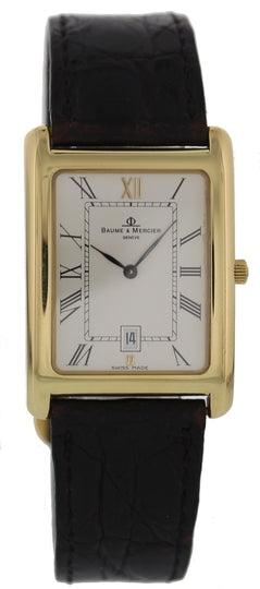Baume & Mercier Hampton Classic 18K Yellow Gold
