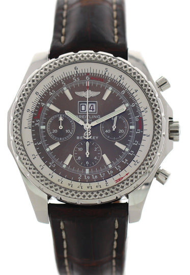 Breitling Bentley Motors A44362 Stainless Steel Chronograph