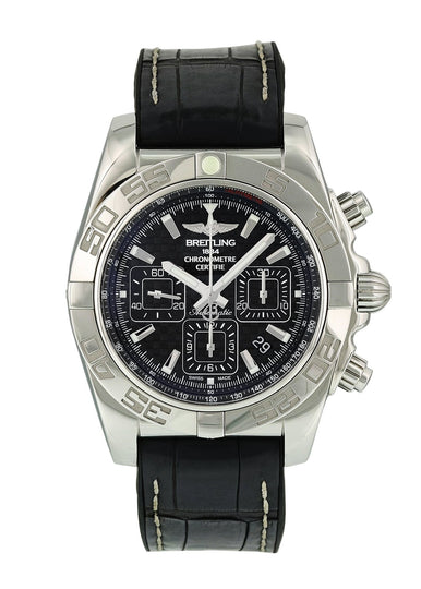 Breitling Chronomat AB0110 Mens Watch Box Papers