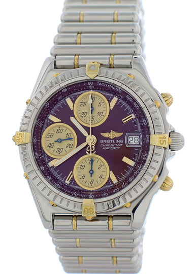 Breitling Chronomat B13050 Bullet Band Mens Watch