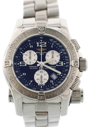 Breitling Emergency Mission Chronograph A73321 Full Set Box & Papers