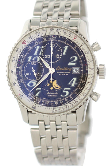 Breitling Montbrillant Eclipse A43030 Automatic Box & Papers