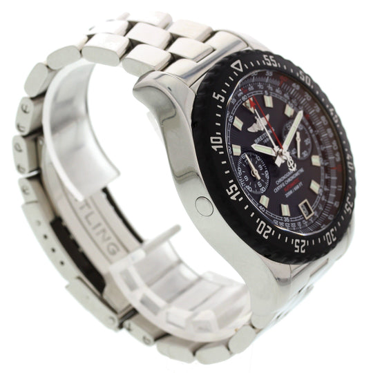 Breitling Skyracer Raven Chronograph Stainless Steel A27364