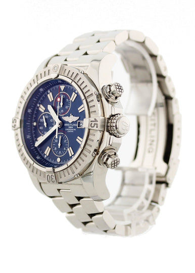 Breitling Super Avenger Chronograph SS A13370 Mens Watch