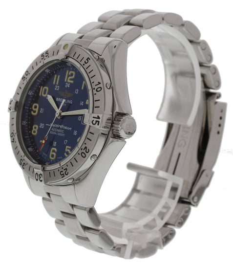 Breitling Superocean A17040 Stainless Steel Automatic