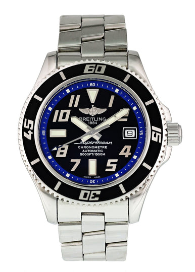 Breitling Superocean A17364 Mens Watch Box Papers