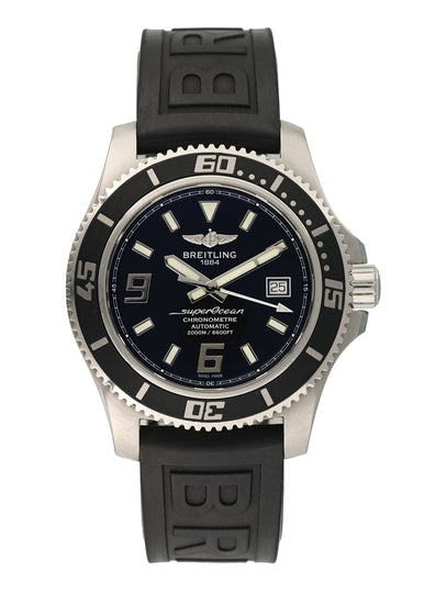 Breitling Superocean A17391 Mens Watch Box papers