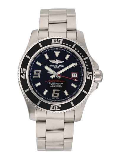 Breitling Superocean A17391 Mens Watch Original Papers