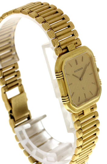 Bucherer 18K Yellow Gold Vintage Watch