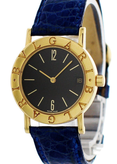 Bvlgari Bulgari 18K Yellow Gold BB30GLD Ladies Watch