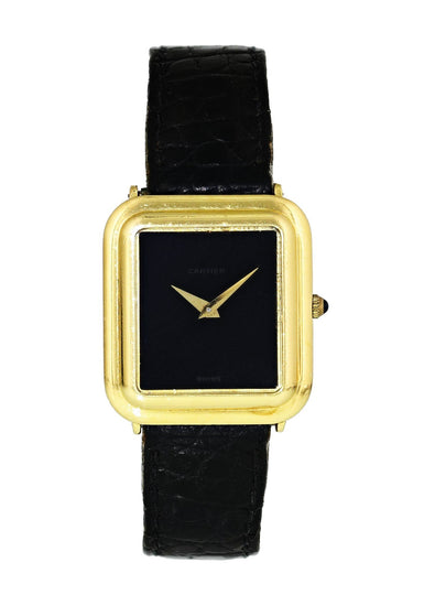 Cartier 18K Yellow Gold Vintage Ladies Watch