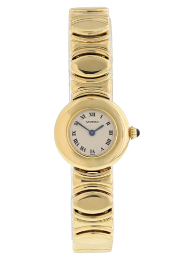 Cartier Baignoire 18k Yellow Gold Ladies Watch