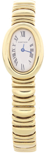 Cartier Baignoire WB5094D8 / 1960 18k Yellow Gold Ladies Watch