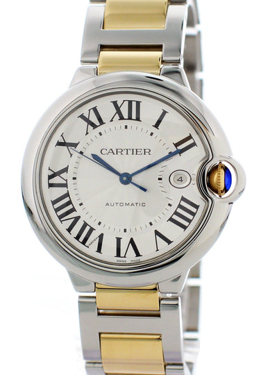 Cartier Ballon Bleu Jumbo W69009Z3 Mens Watch