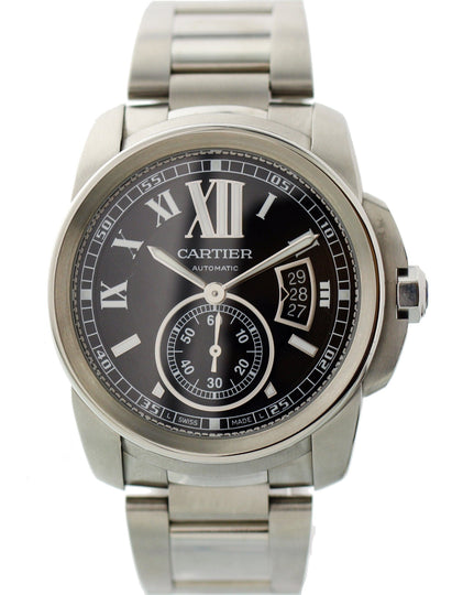 Cartier Calibre 3389 Stainless Steel Automatic Watch
