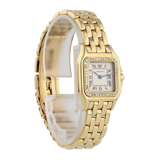 Cartier Panthere 1280 Yellow Gold Ladies Watch