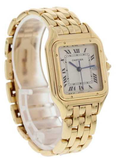 Cartier Panthere 18k Yellow Gold Large 887968 Watch