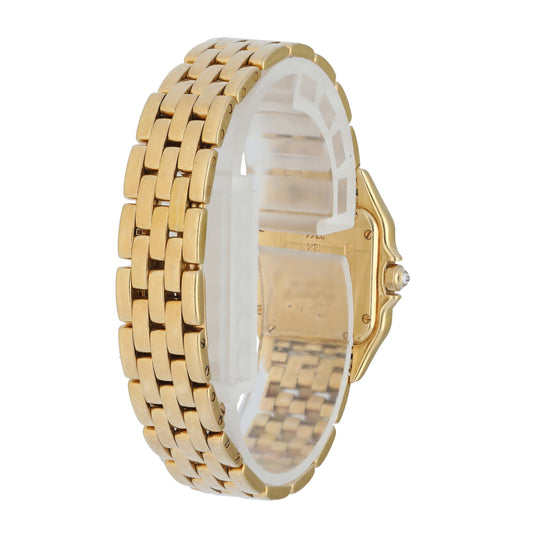 Cartier Panthere 2361 MOP Dial Diamond Ladies Watch