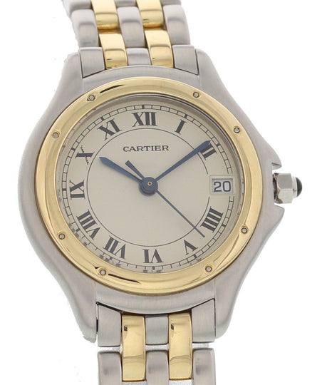 Cartier Panthere Cougar 18K Yellow Gold 119000R Ladies Watch