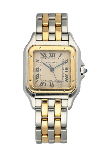 Cartier Panthere Midsize Two Row Ladies Watch