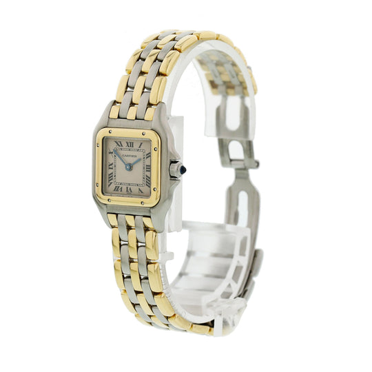 Cartier Panthere Three Row Ladies Watch