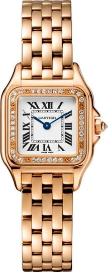 Cartier Panthere WJPN0008 Small Size Pink Gold Watch Box Papers NEW