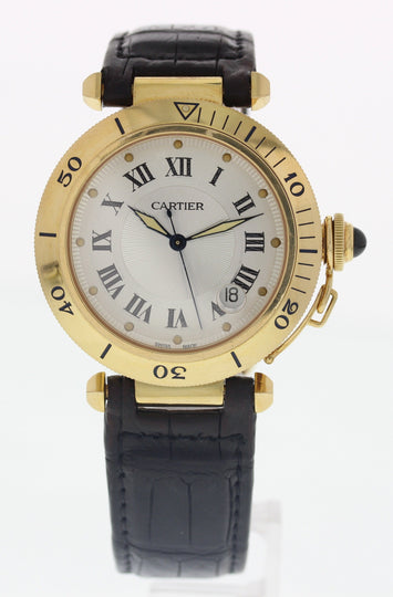Cartier Pasha 2111 18K Yellow Gold Automatic