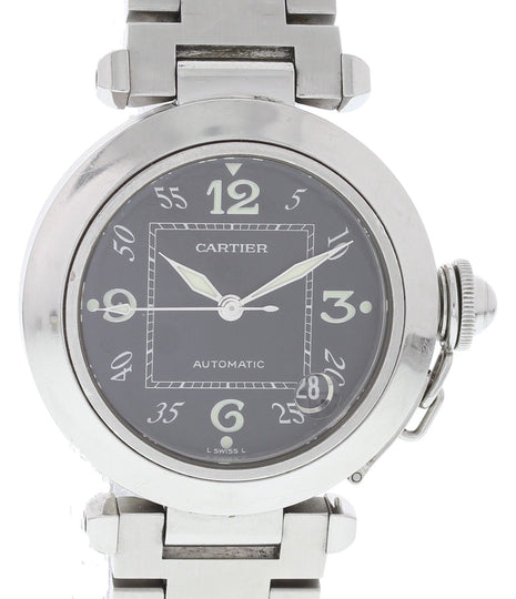 Cartier Pasha 2324 Stainless Steel