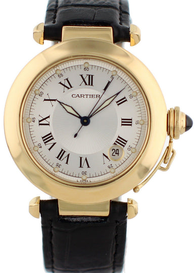 Cartier Pasha de Cartier 1028 18K Yellow Gold Mens Watch