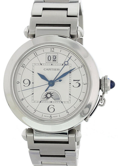 Cartier Pasha Moonphase 2938 GMT Men's Watch