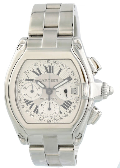 Cartier Roadster XL Chronograph 2618 Mens Watch