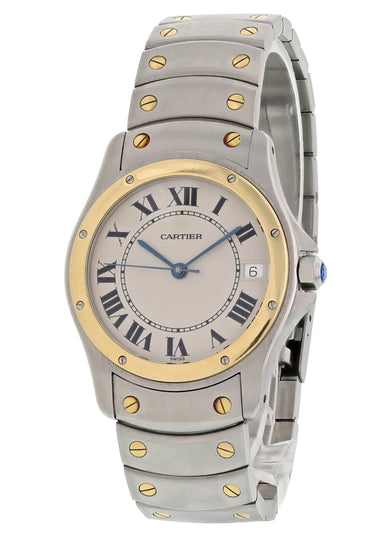 Cartier Ronde Santos 1910 Automatic Mens Watch