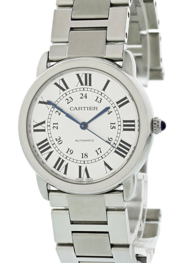 Cartier Ronde Solo WSRN0012 Ladies Watch Box Papers
