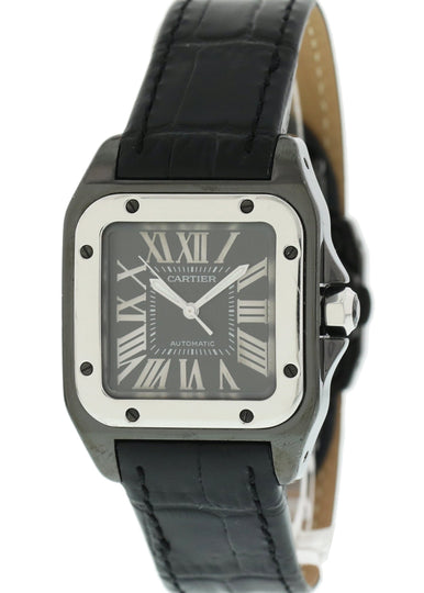 Cartier Santos 100 2878 PVD Men's Watch