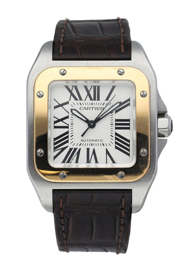 Cartier Santos 100 Stainless Steel 2878 Midsize Automatic Watch
