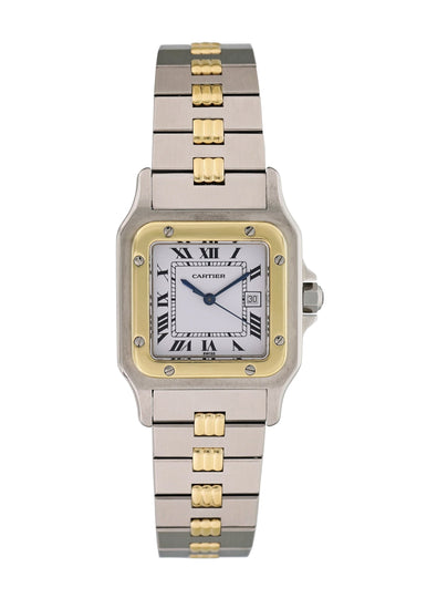Cartier Santos Automatic 18K Yellow Gold & Stainless Steel
