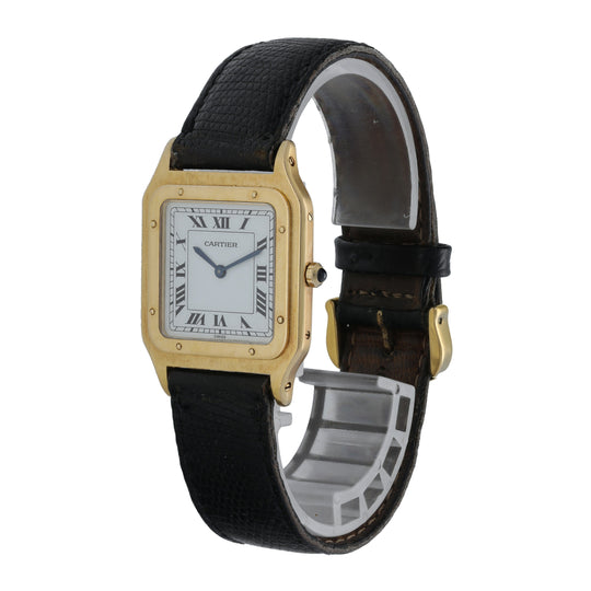 Cartier Santos Dumont Yellow Gold Watch