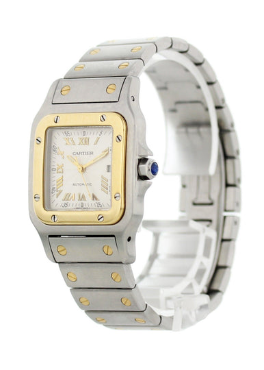 Cartier Santos Galbee 2319 Automatic Two Tone Watch