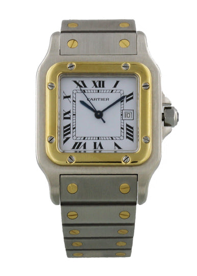 Cartier Santos Galbee Automatic Large Mens Watch