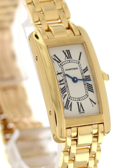 Cartier Tank Americaine 1710 18K Yellow Gold