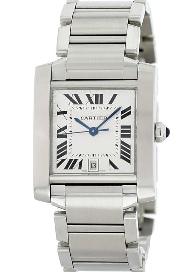 Cartier Tank Francaise 2302 Mens Watch
