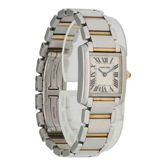 Cartier Tank Francaise 2384 Ladies Watch