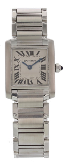 Cartier Tank Francaise 2384 Stainless Steel Quartz