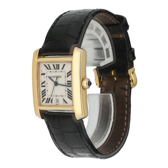 Cartier Tank Francaise W5000156 1840 Mid-Size Watch