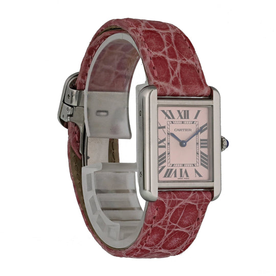 Cartier Tank Solo 3170 Ladies Watch