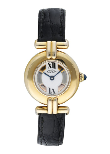 Cartier Vermeil Must de Cartier 590002 Ladies Watch